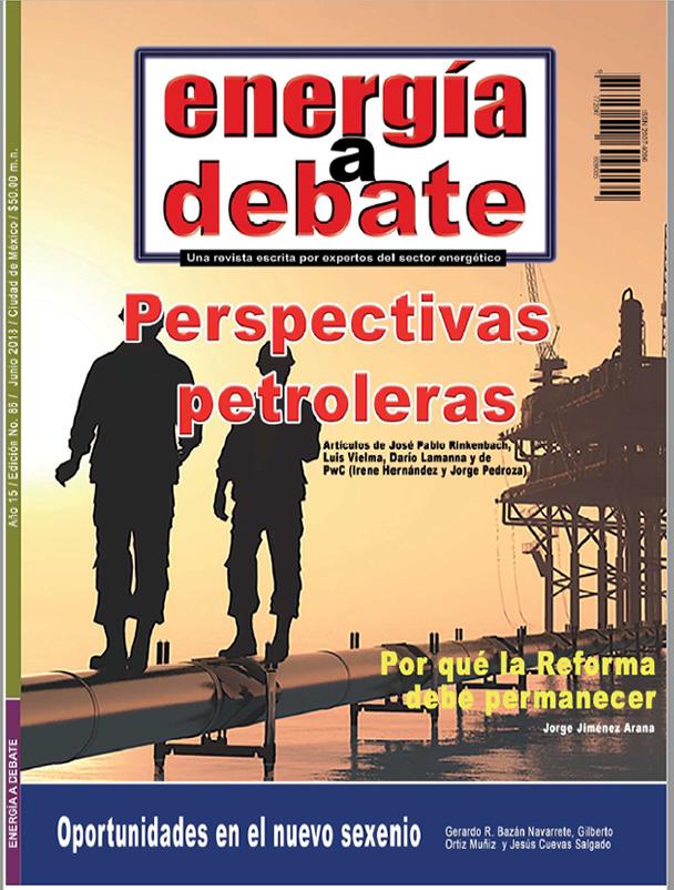 Consulte la revista Energía a Debate No. 86, junio 2018