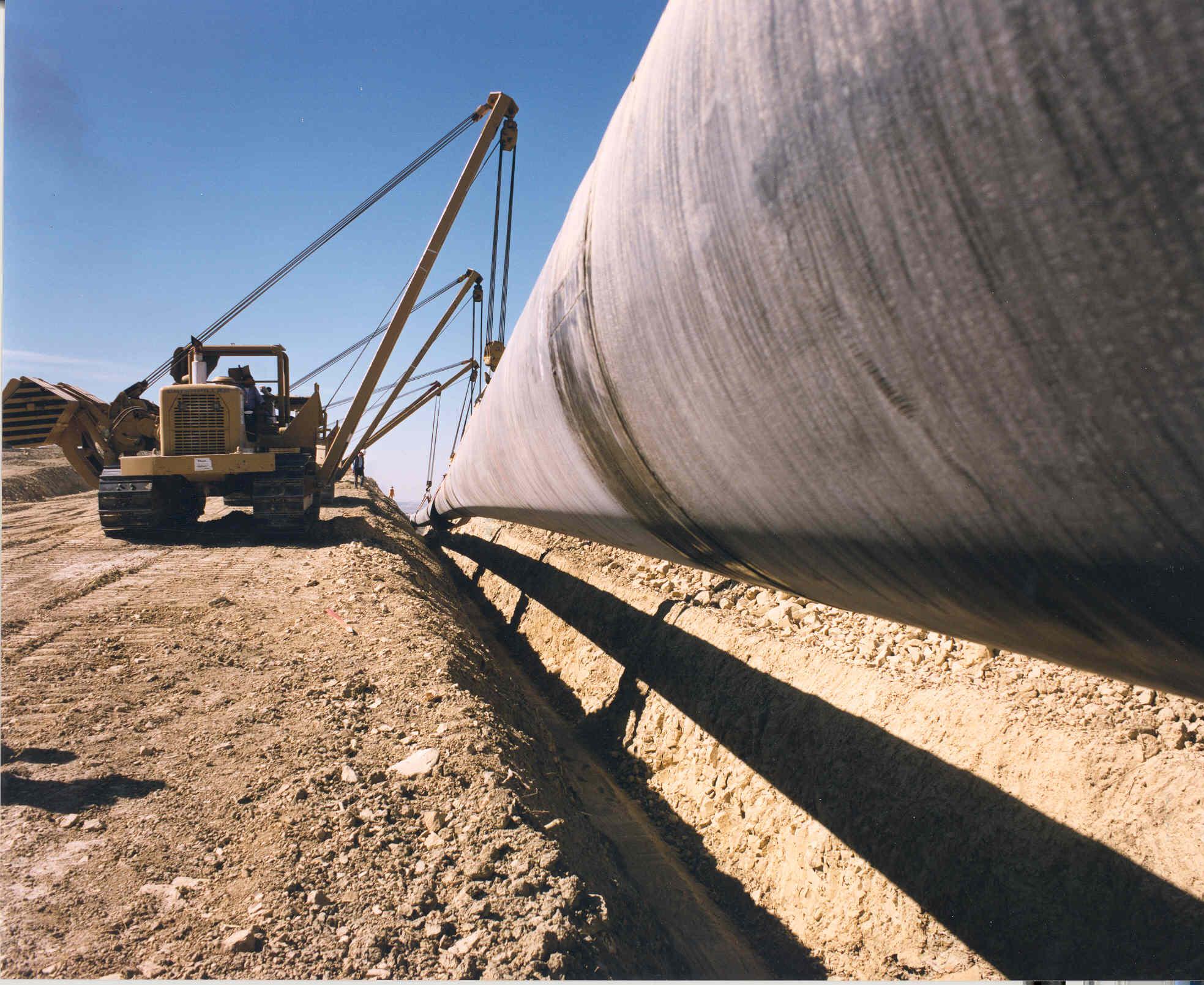 Alcanzan acuerdo con constructuras de gasoductos