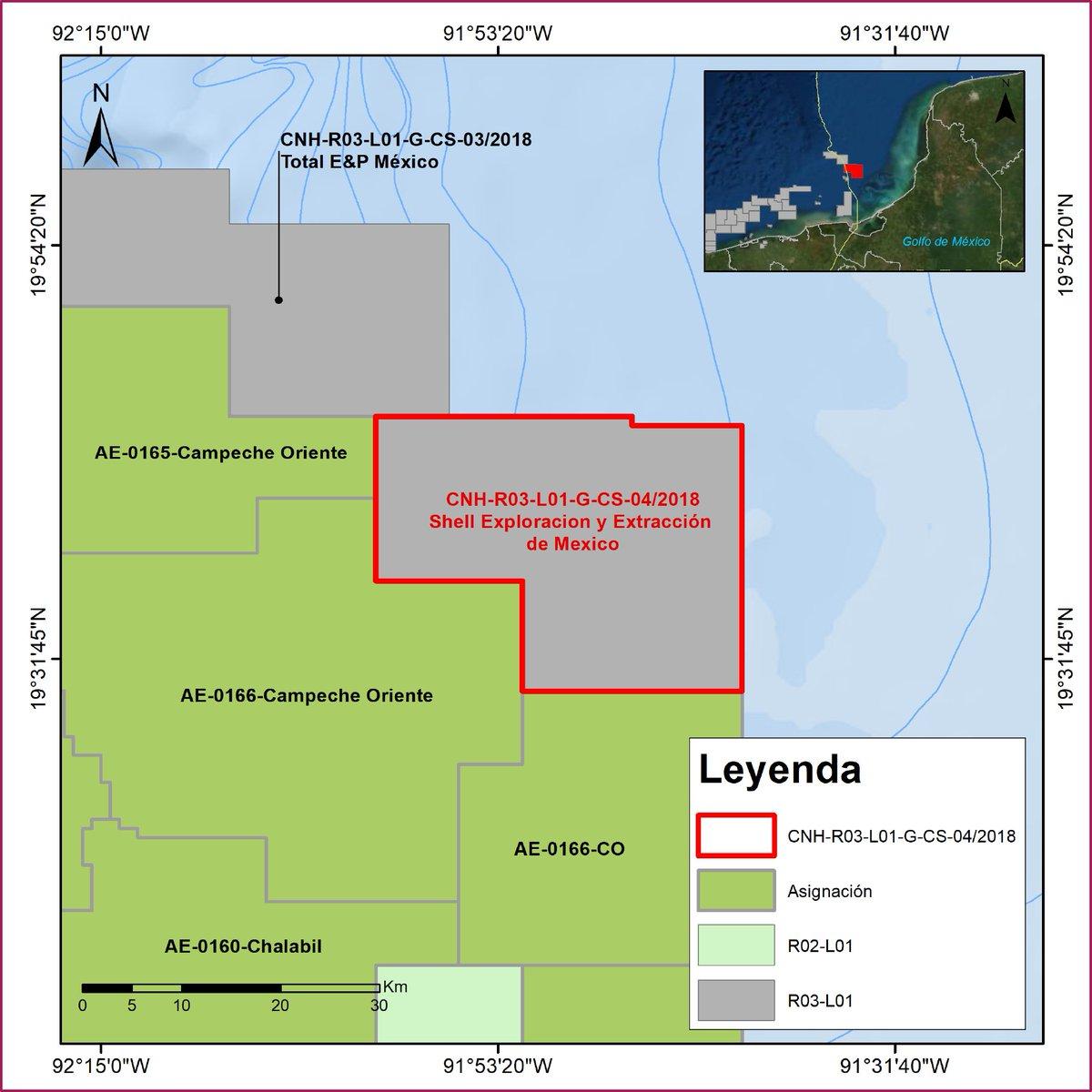 La CNH aprueba plan de trabajo en contrato de Shell