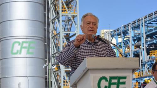 La electricidad no puede estar en manos privadas: Bartlett