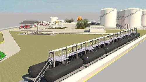 Presenta Bulkmatic avances en su terminal de Nuevo León