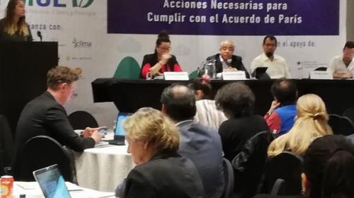 Analizarán acciones de México ante la emergencia climática