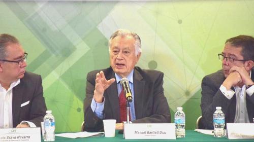 CFE, la más vilipendiada: Manuel Bartlett; anuncia alianza con SPR