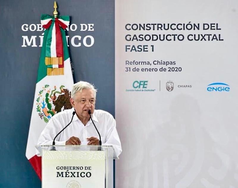 Anuncian gasoducto Cuxtal-Mayakán de ENGIE
