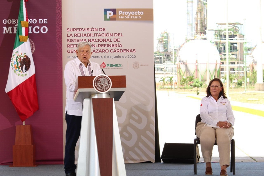 Autosuficiencia en gasolinas en 2023; refinería en Cangrejera: AMLO