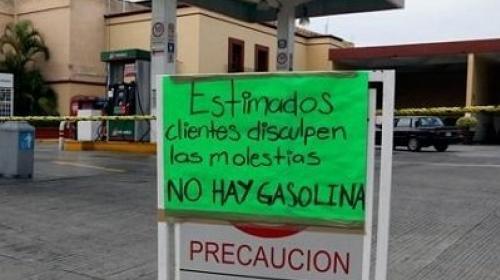 El desabasto de gasolina se extiende por el país