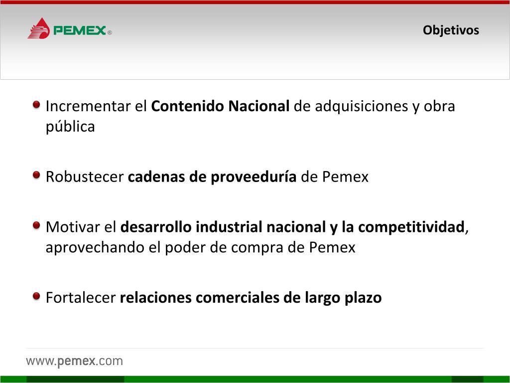 Contenido nacional, impulso a la soberanía y la industria de México