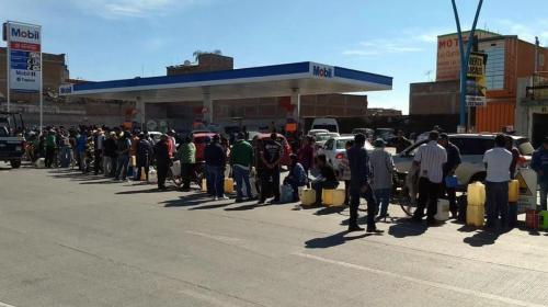 Se agudiza desabasto de combustibles, reconoce gobierno