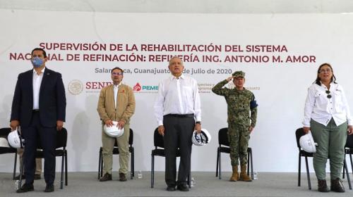 Gastan MX$ 4,110 millones en rehabilitar refinería de Salamanca