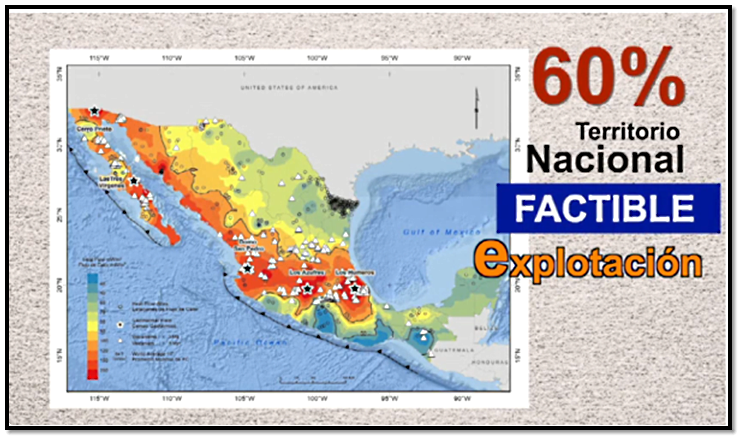 Energía geotérmica, ¿con potencial en México?