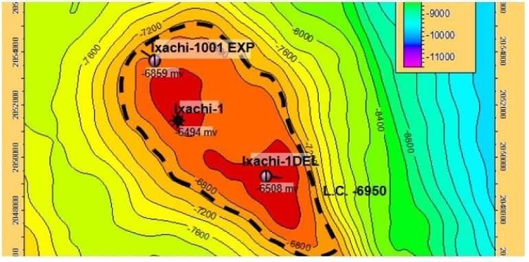 Activación oportuna del desarrollo del yacimiento Ixachi