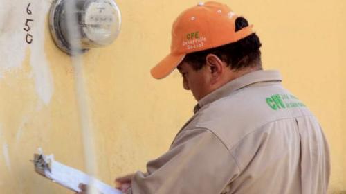 Pide CNDH a la CFE no cortar servicio eléctrico
