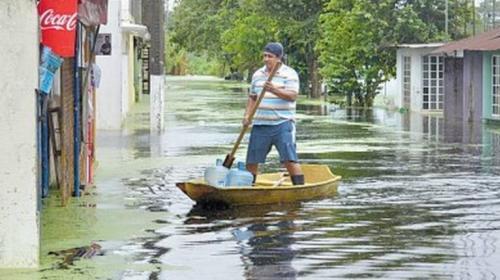 Esboza AMLO un plan para dragar los ríos en Tabasco