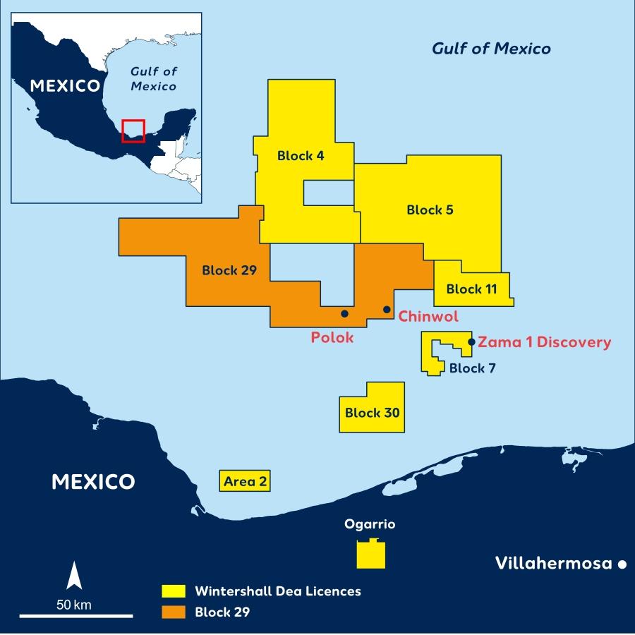 Avanza Wintershall DEA en México y en sus planes climáticos