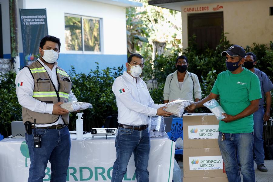 Continúan apoyos de Iberdrola México en la Huasteca potosina