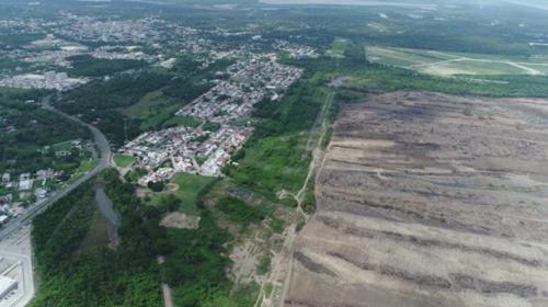 Multa la ASEA a empresa que desmonta terreno de la refinería de Dos Bocas