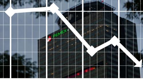 Fitch baja dos niveles la calificación de Pemex; perspectiva negativa
