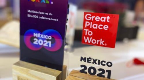 Enel México recibe la distinción Great Place to Work 2021
