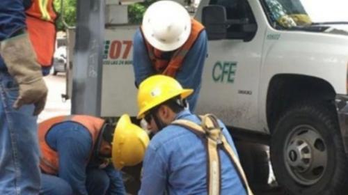 CFE exige castigo por vandalismo en Playa del Carmen