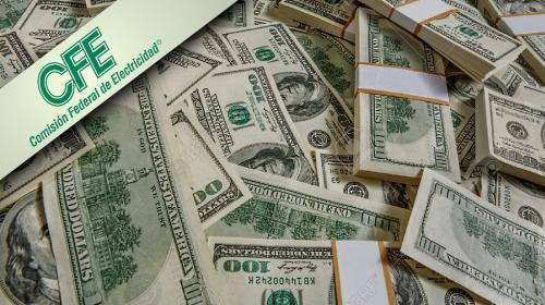 Toma CFE bono por 850 millones de dls para pagar deuda
