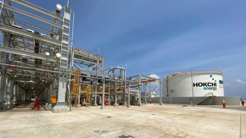 Inaugura Hokchi Energy planta de procesamiento en Paraíso