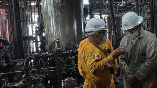 Pemex restablecerá la producción perdida el lunes