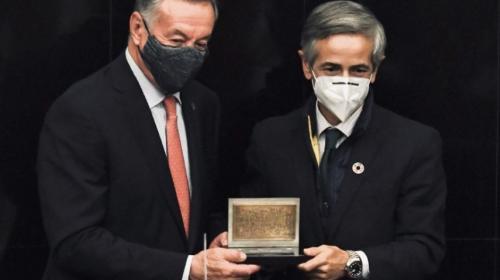 Concamin premia a Iberdrola por su ética y valores
