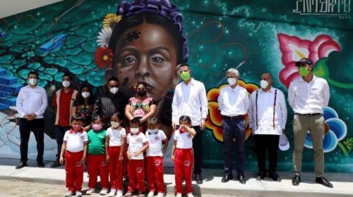 En Oaxaca, gobierno estatal e Iberdrola construyen para educar