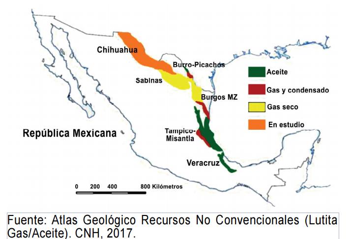 El futuro del shale en México