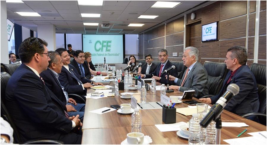 Piden diputados a CFE revertir alzas en tarifas eléctricas