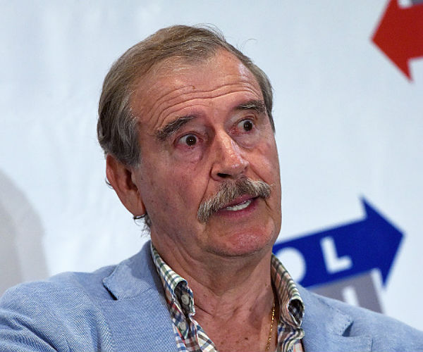 Polemizan Fox, Nahle y Calderón sobre cumbre energética cancelada
