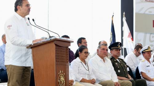 Entrega Pemex a SEMAR instalaciones de seguridad en Dos Bocas