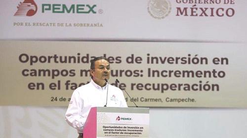 Presenta Pemex su programa de inversión en campos maduros