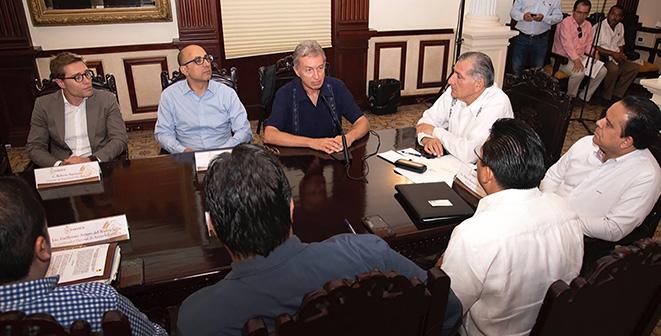 ENI firma convenio de colaboración con el gobierno de Tabasco