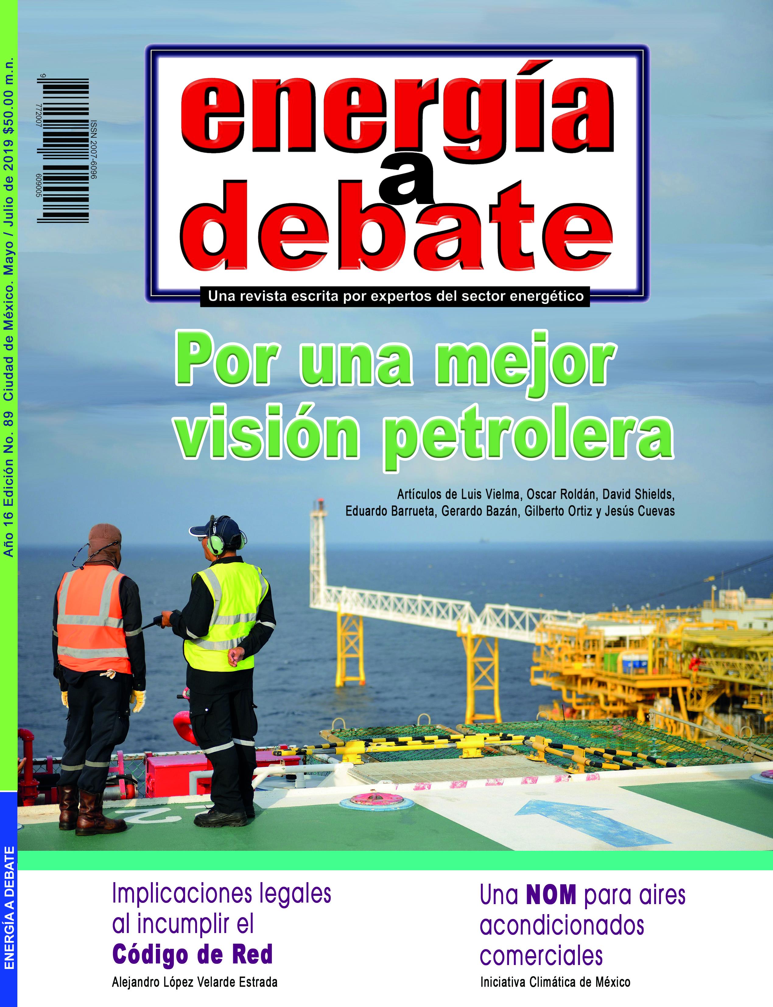 Consulte la revista Energía a Debate No. 89