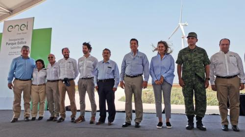 Enel inaugura Saltrillos, producto de la segunda subasta eléctrica
