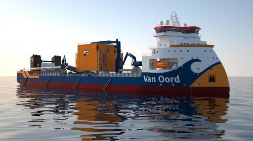 Van Oord gana contrato de dragado para la Refinería Dos Bocas
