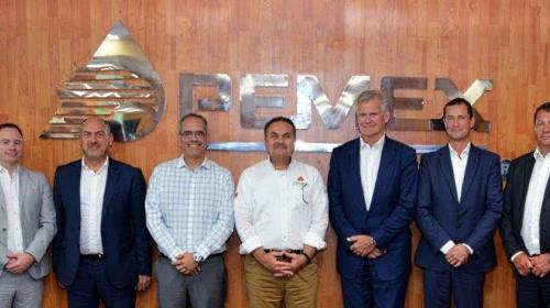 Se reúnen Romero Oropeza y empresa noruega Borr Drilling