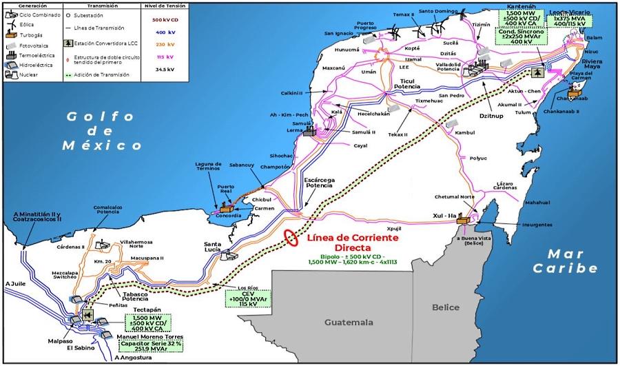 Sobrecostos, diferir interconexión con la Península de Yucatán: Cenace