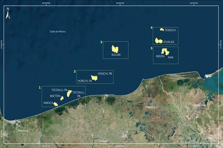 ENI inicia producción en el campo Miztón, Área 1