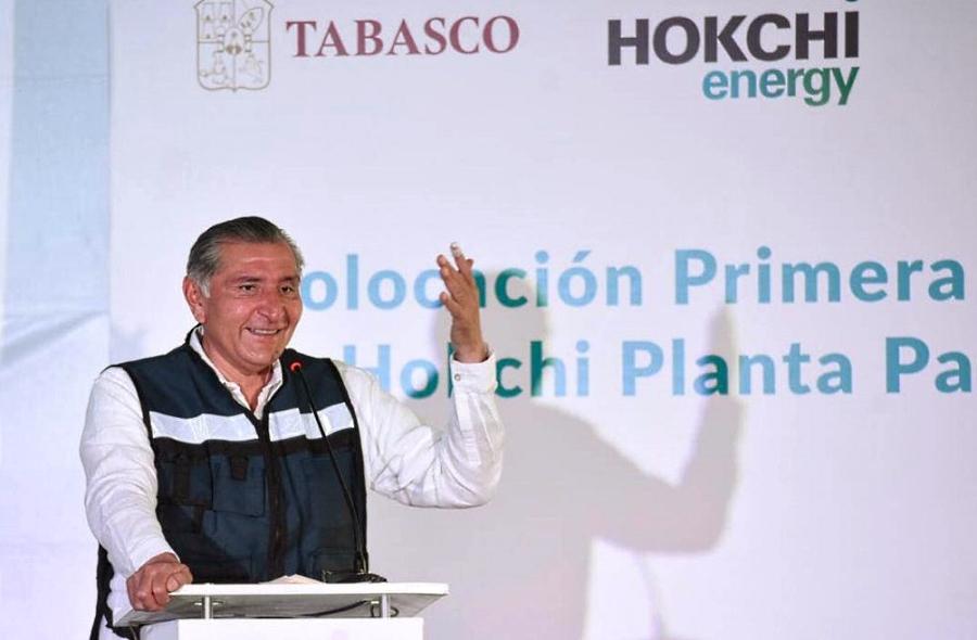 Hokchi coloca primera piedra de planta de procesamiento