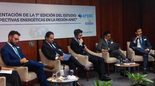 Presentan perspectivas energéticas en APEC al 2050