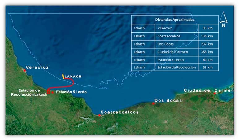 Pemex replantea Proyecto Lakach, en aguas profundas