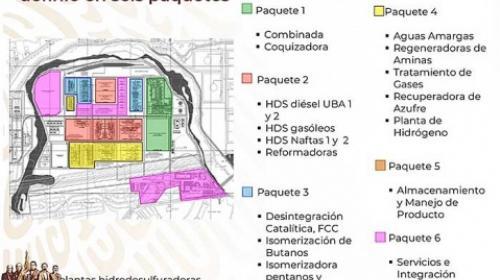 Nahle explica Dos Bocas; contratos a 5 consorcios sumarían 7.5 mmdd
