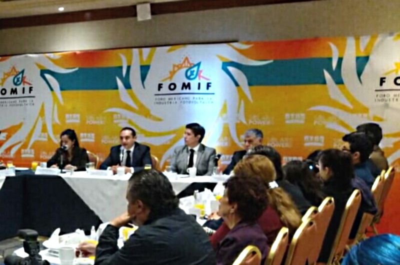 Alistan el II Foro Mexicana de la Industria Fotovoltaica (FOMIF)