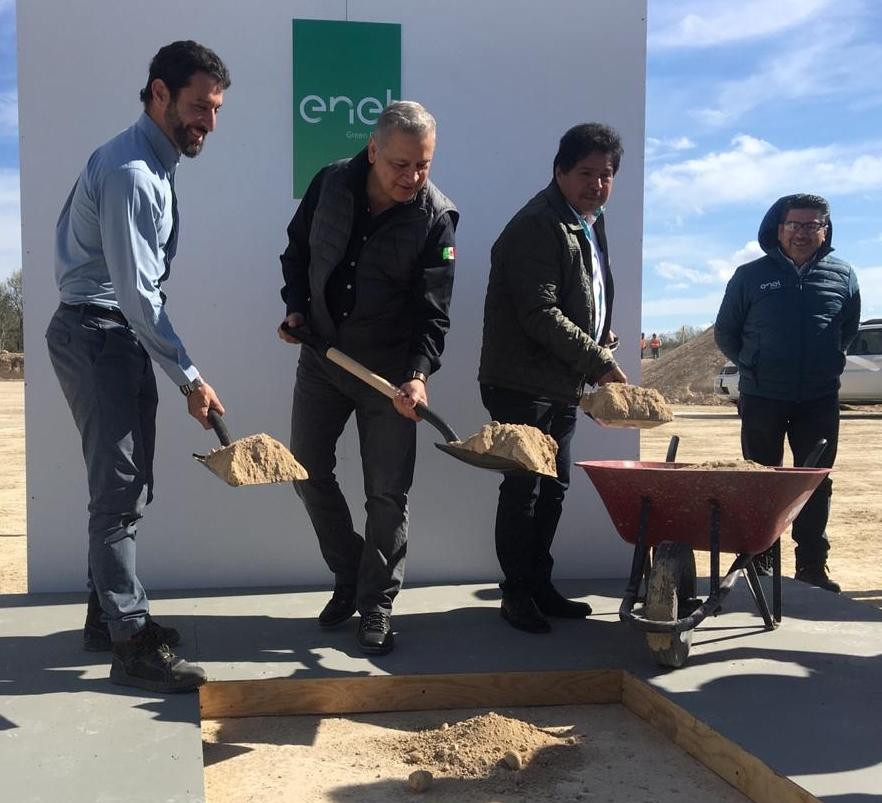 Enel inicia construcción de parque eólico Dolores