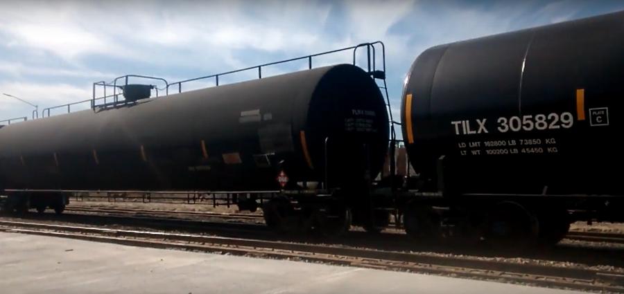 A falta de ductos, México importa gas propano por tren